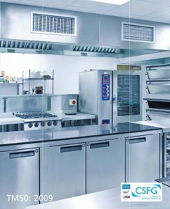 Commercial Kitchen Design Work with a CSFG TM50 Report