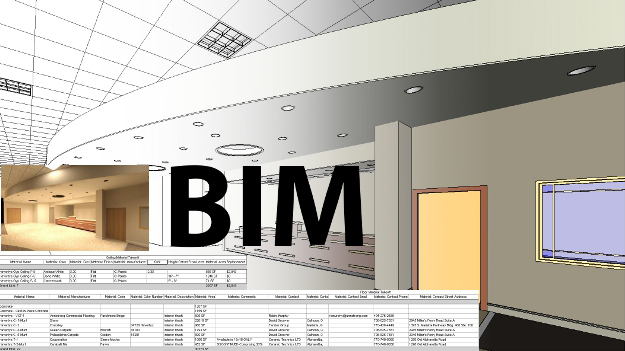 Level 2 BIM modelling - 3D & 2D commercial designs