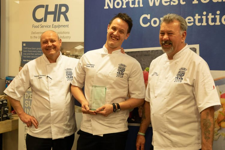 competition winner with judges